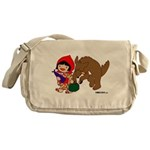 Little Red Cap Messenger Bag