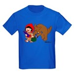 Little Red Cap Kids Dark T-Shirt
