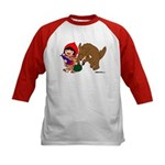 Little Red Cap Kids Baseball Jersey