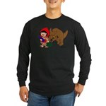 Little Red Cap Long Sleeve Dark T-Shirt