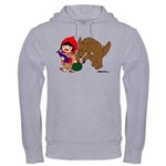 Little Red Cap Hooded Sweatshirt