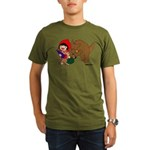 Little Red Cap Organic Men's T-Shirt (dark)
