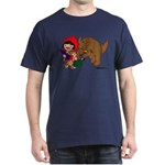 Little Red Cap Dark T-Shirt