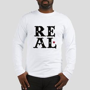 REAL Long Sleeve T-Shirt
