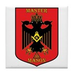 Masonic 33rd Degree Tile Coaster