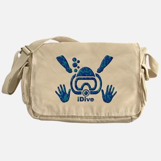 iDive Blue Sea 2010 Messenger Bag