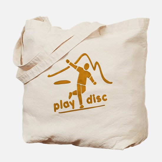 Disc Golf Launch Rust Tote Bag