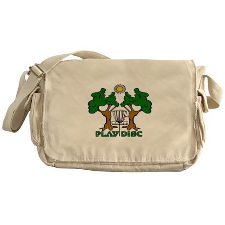 Disc Golf Landscape Original Messenger Bag