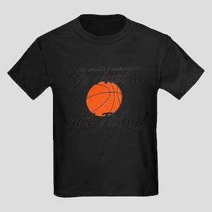 Soccer - It's a Girl Thing! Kids Dark T-Shirt