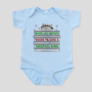CHRISTMAS CAROL ELF CLASSIC Infant Bodysuit