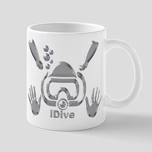 iDIve Silver Bevel 2010 Mug