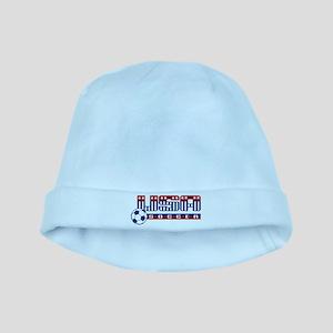 USA SOCCER 2010 baby hat