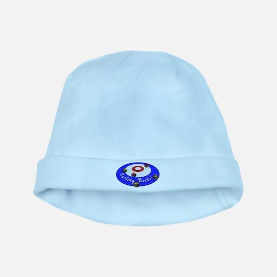 Curling Rocks! baby hat