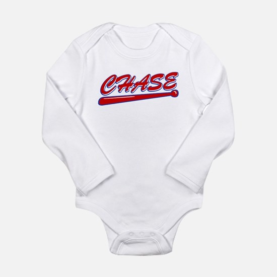 Chase Classic Bat Long Sleeve Infant Bodysuit