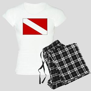 Generic Dive Flag Pocket Women's Light Pajamas