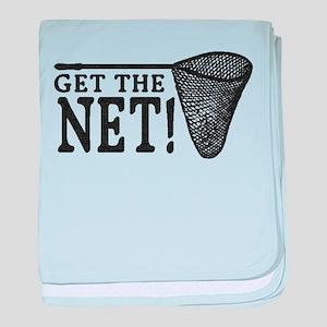 Get the Net! baby blanket