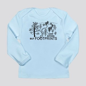 Leave Nothing but Footprints Long Sleeve Infant T-