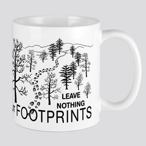 Leave Nothing but Footprints Mug