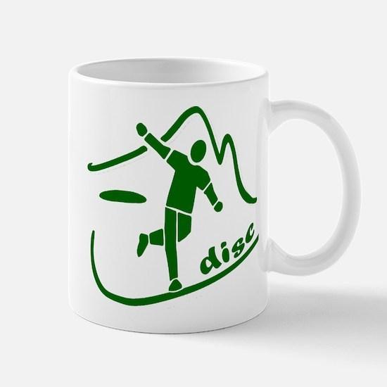 Disc Launch Green Mug