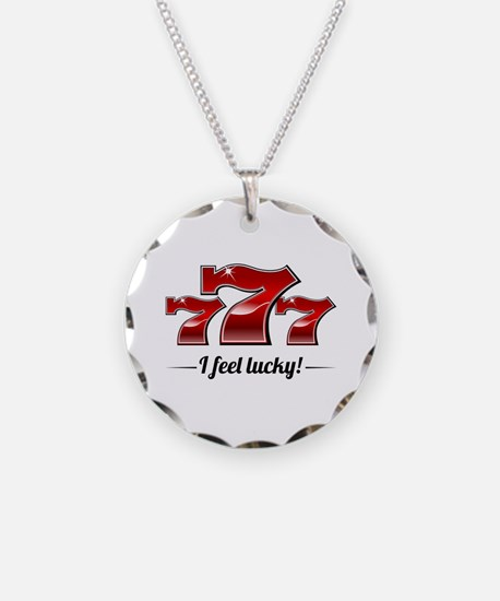 """I Feel Lucky"" Necklace"