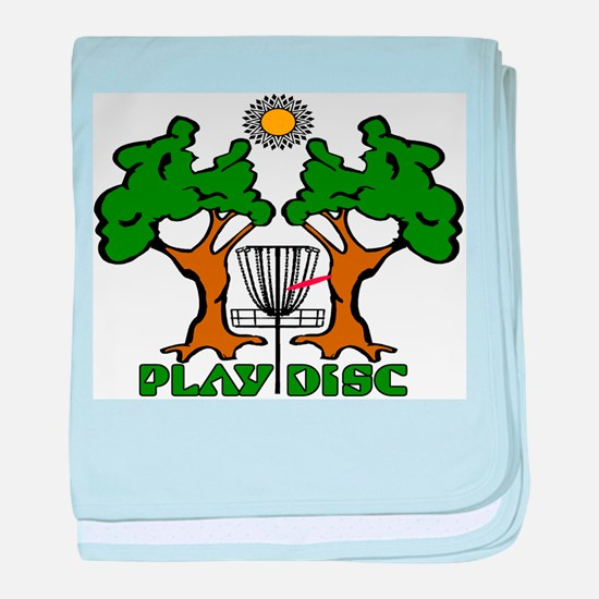 Disc Golf Landscape Original baby blanket