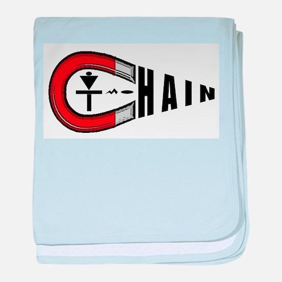 Disc Golf Chain Magnet baby blanket