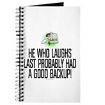 He who laughs last Journal