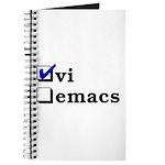 vi vs emacs -- vi Journal