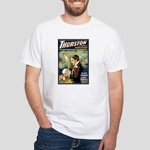 Thurston SPIRITS Mens White T-Shirt