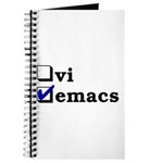vi vs emacs -- emacs Journal