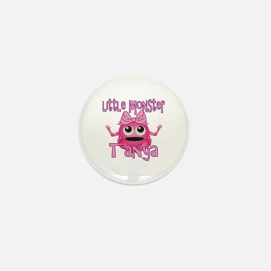 Little Monster Tanya Mini Button