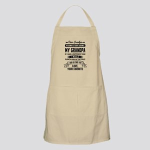 Dear Grandpa, Love, Your Favorite Light Apron