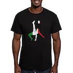 Italy Soccer Men's Fitted T-Shirt (dark)