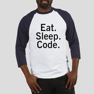 Eat. Sleep. Code. Baseball Jersey