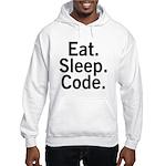 Eat. Sleep. Code. Hooded Sweatshirt
