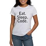 Eat. Sleep. Code. Women's T-Shirt