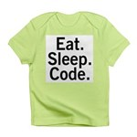 Eat. Sleep. Code. Infant T-Shirt