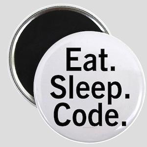Eat. Sleep. Code. Magnet