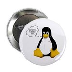 """Use Linux. It doesn't suck 2.25"""" Button (100 pack)"""
