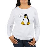 Use Linux. It doesn't suck Women's Long Sleeve T-S