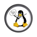 Use Linux. It doesn't suck Wall Clock