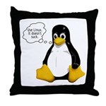 Use Linux. It doesn't suck Throw Pillow