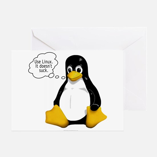Use Linux. It doesn't suck Greeting Card