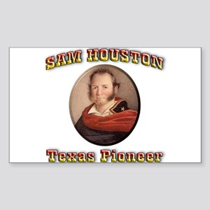 Sam Houston Sticker (Rectangle 50 pk)