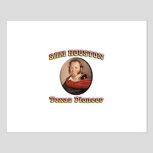 Sam Houston Small Poster