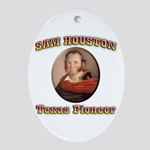 Sam Houston Ornament (Oval)