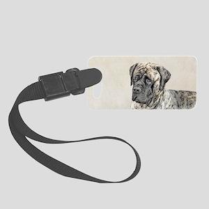 English Mastiff (Brindle) Small Luggage Tag