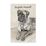 English Mastiff (Brindle) Mini Poster Print