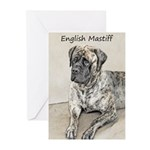 English Mastiff (Brindle Greeting Cards (Pk of 20)