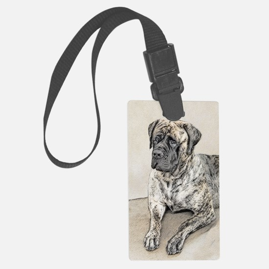 English Mastiff (Brindle) Luggage Tag